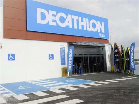 cadenas coche decathlon decathlon la cadena de deportes desembarca en menorca