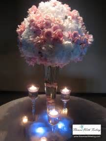 photo centerpieces hydrangea centerpiece ideas reception project wedding forums