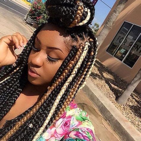 multi colored box braids 25 best ideas about colored box braids on