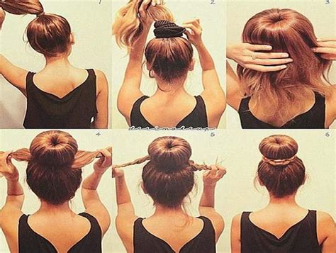 easy hairstyles for medium hair for school step by step easy updos for medium length hair step by step hair
