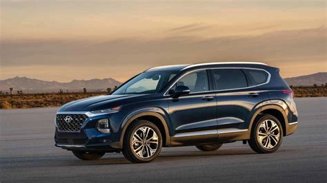 How Much Is A Hyundai Santa Fe by 2019 Hyundai Santa Fe Is Bigger Bolder Available With A