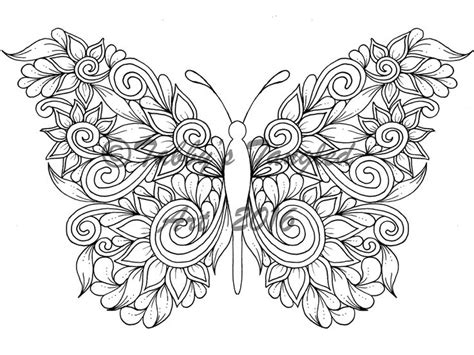butterfly coloring page pdf 303 best adult coloring page and digist images on