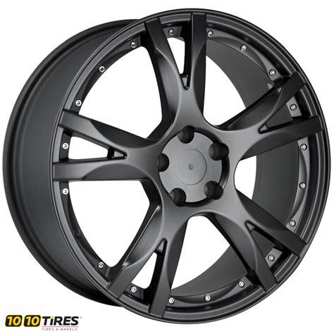 Lamborghini Wheels Replica T3 Replica Audi Lambo Painted Matt Black Wheel