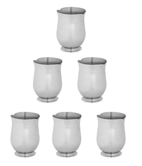 bm 2350 nagita set arttdinox stainless steel glass set of 6 available at