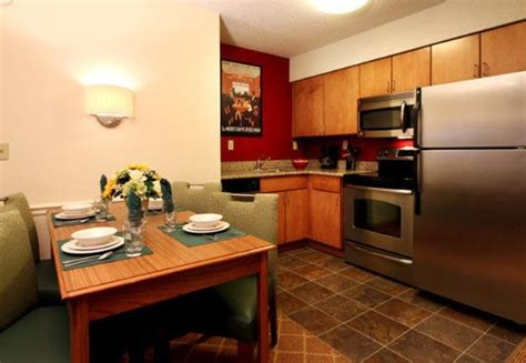 2 bedroom suites in branson mo two bedroom suite kitchen picture of residence inn