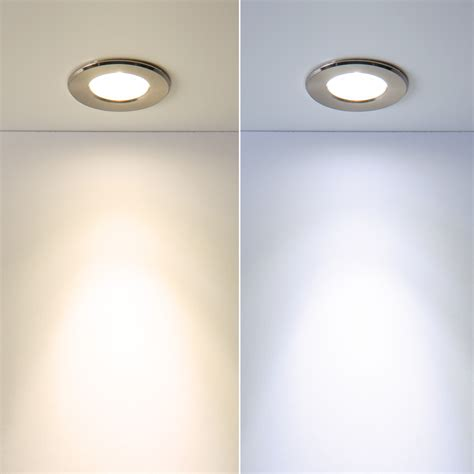 mini recessed led puck light for indoor or outdoor use