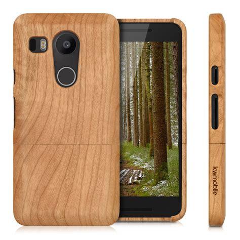 mobile lg nexus kwmobile wood cover for lg nexus 5x back