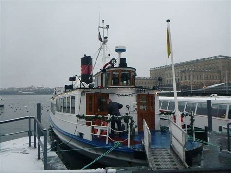 boat tour stockholm taking a winter boat tour in stockholm sweden with