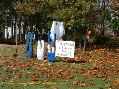 yard decorations ideas kelly d kids grounded halloween yard decoration home