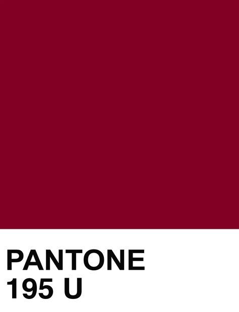 u of a colors pantone 195 u color swatch the house of beccaria