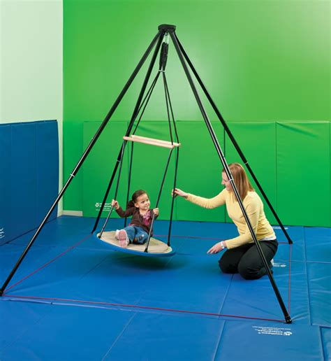 any swing goes southpaw itinerant suspension frame