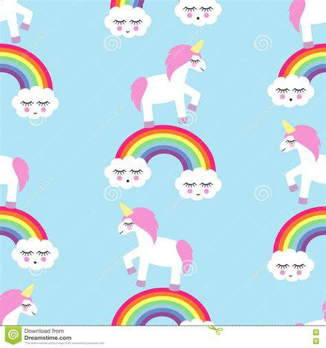 imagenes de unicornios y arcoiris modelo incons 250 til con unicornios y arco iris ilustraci 243 n
