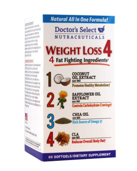 weight management doctor doctor s select nutraceuticals weight loss 4 softgels