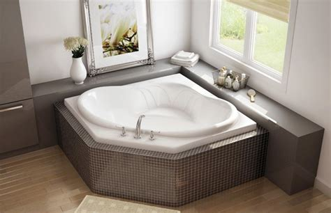 corner soaking bathtubs maax nancy corner drop in bathtub www maax com maax