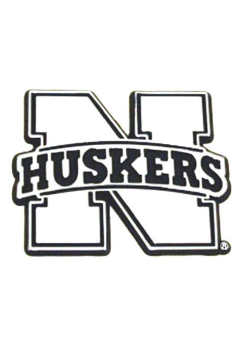 Husker Coloring Pages cornhuskers football free coloring pages