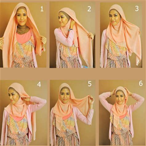 tutorial hijab paris elzatta tutorial hijab paris segi empat praktis
