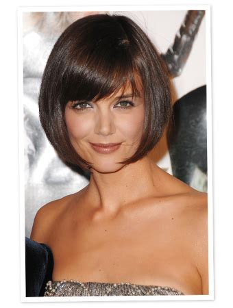 how to cut a katie holmes bob 301 moved permanently