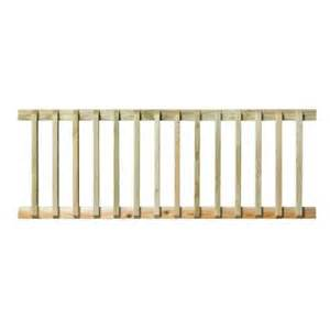 bannister home depot pressure treated 6 ft handrail 132380 the home depot