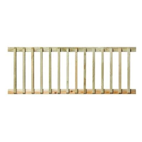 Handrail Home Depot pressure treated 6 ft handrail 132380 the home depot