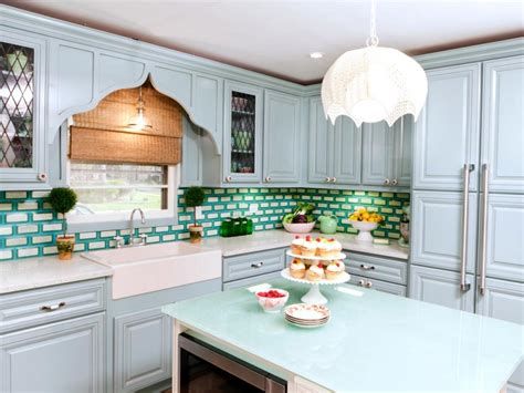 Diy Blue Kitchen Ideas Blue Kitchen Cabinet Color Ideas