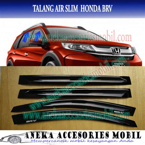 Talang Air Side Visor Honda Hr V Slim jual talang air side visor door visor slim mobil honda brv br v aneka accmo