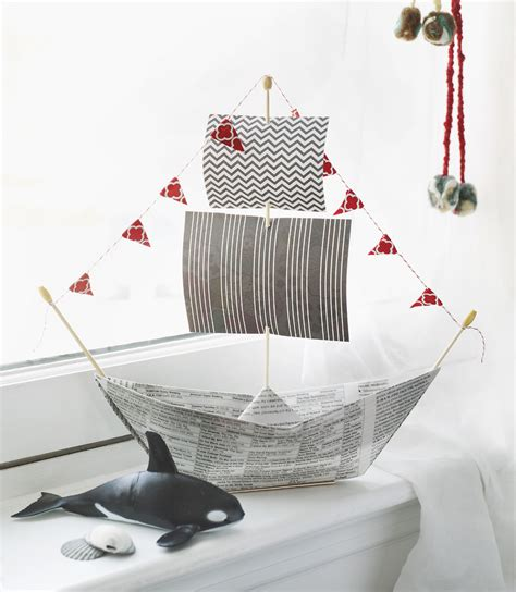 How To Make A Pirate Ship With Paper - 4 father s day crafts project kid
