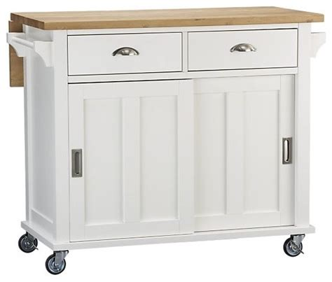 White Kitchen Island Cart by Belmont White Kitchen Island Traditional Kitchen