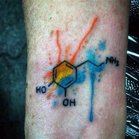 chemistry tattoo designs 80 chemistry tattoos for physical science design ideas