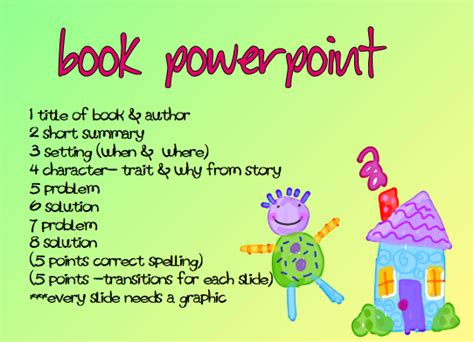 book report presentation a time to and create book report the powerpoint way