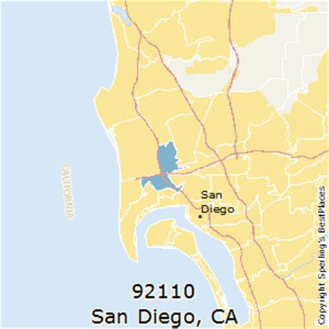 zip code maps san diego best places to live in san diego zip 92110 california