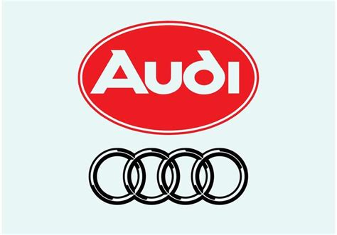 audi logo vector audi logo free vector stock graphics images