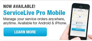 live login mobile servicelive for providers