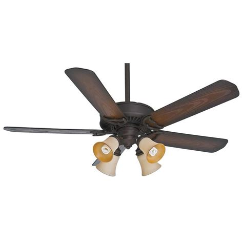 Casablanca Ceiling Fan Lights Shop Casablanca 54 In Maiden Bronze Indoor Outdoor Downrod Or Mount Ceiling Fan With Light