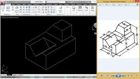tutorial autocad mechanical mechanical modeling using coordinate method autocad