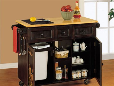 Kitchen Movable Islands Movable Kitchen Island Plans Kitchentoday