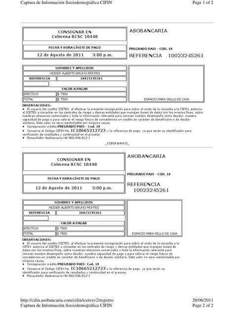 icetex como imprimir el recibo de pago apexwallpapers com view image recibo de pago
