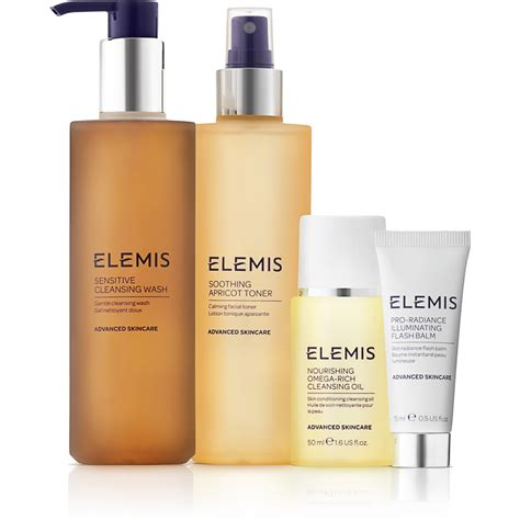 Elemis Detox Products by Elemis Kit Sensitive Cleansing Collection Worth 163 62 75