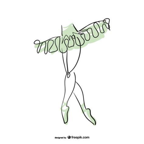 imagenes abstractas sin color dibujo piernas de bailarina descargar vectores gratis