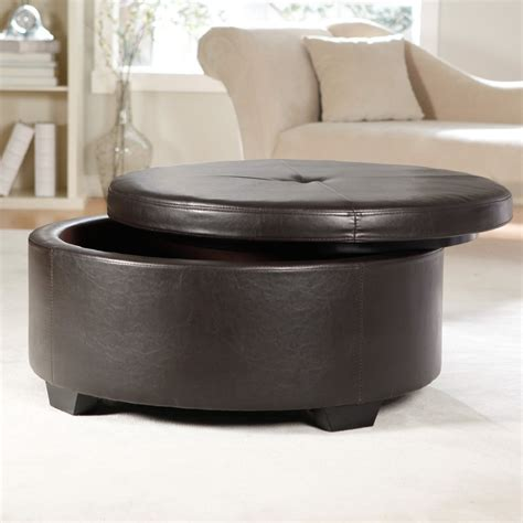 light leather ottoman light gray leather ottoman horner h g