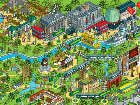 theme park zoo uk theme park maps mapping london