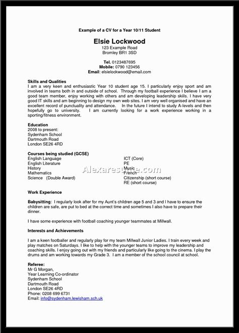 exles of resumes powerful resume objectives exle