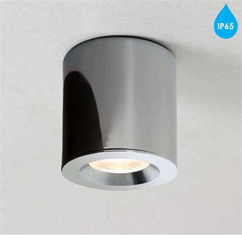 astro kos ip65 led bathroom downlight polished chrome