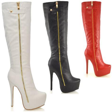 womens knee high heel boots with new innovation sobatapk