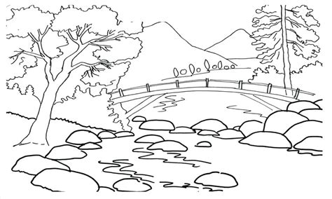 african landscape coloring page landscape color pages landscape coloring pages plus