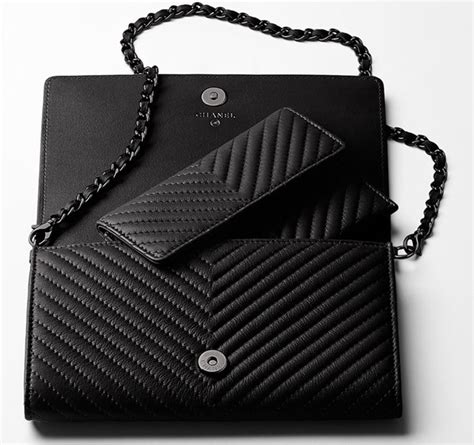 Tas Chanel Sevron Import chanel woc wallet on a chain the bag hoarderthe bag hoarder
