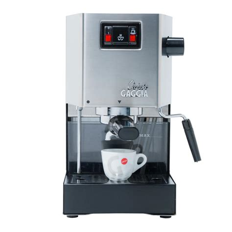 gaggia semi automatic espresso and cappuccino machine