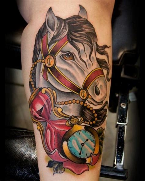 rocking horse tattoo 54 best images about on horseshoe