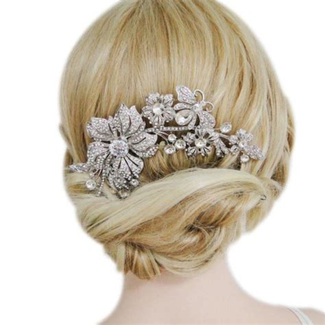 Wedding Hair Accessories Combs by Wedding Hair Accessories Get Discount On Bridal Hair
