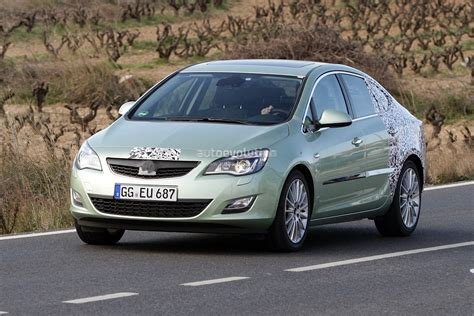 opel astra sedan 2008 spyshots 2012 opel astra sedan