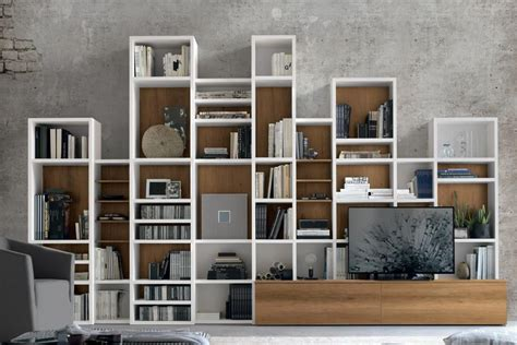 librerie modulari componibili librerie componibili a spalla mobili per il soggiorno